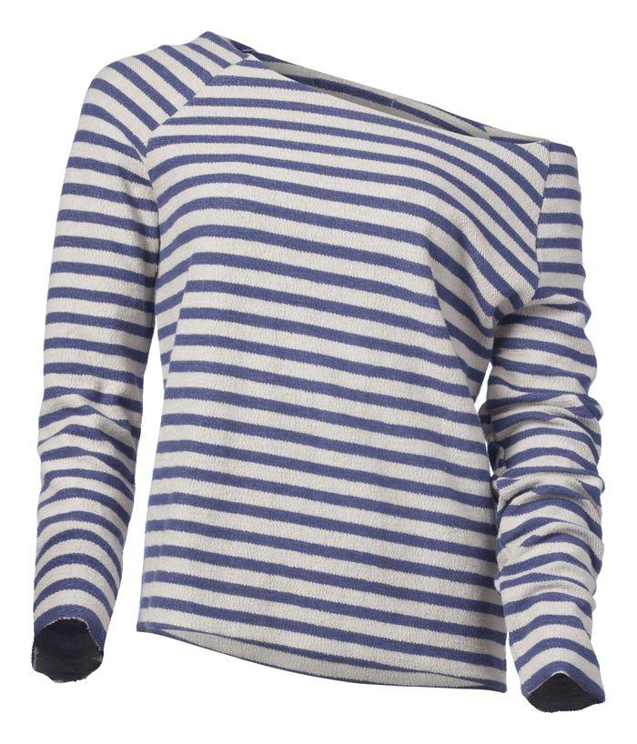 Ya Ya Striped Sweatshirt
