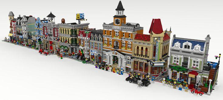 LED renderings - LEGO Town - Eurobricks Forums