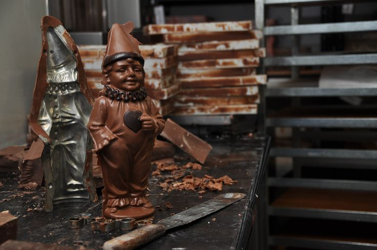 At our factory we have chocolate molds from Second World War time. Visit us http://www.lukachocolate.com.au/factory/