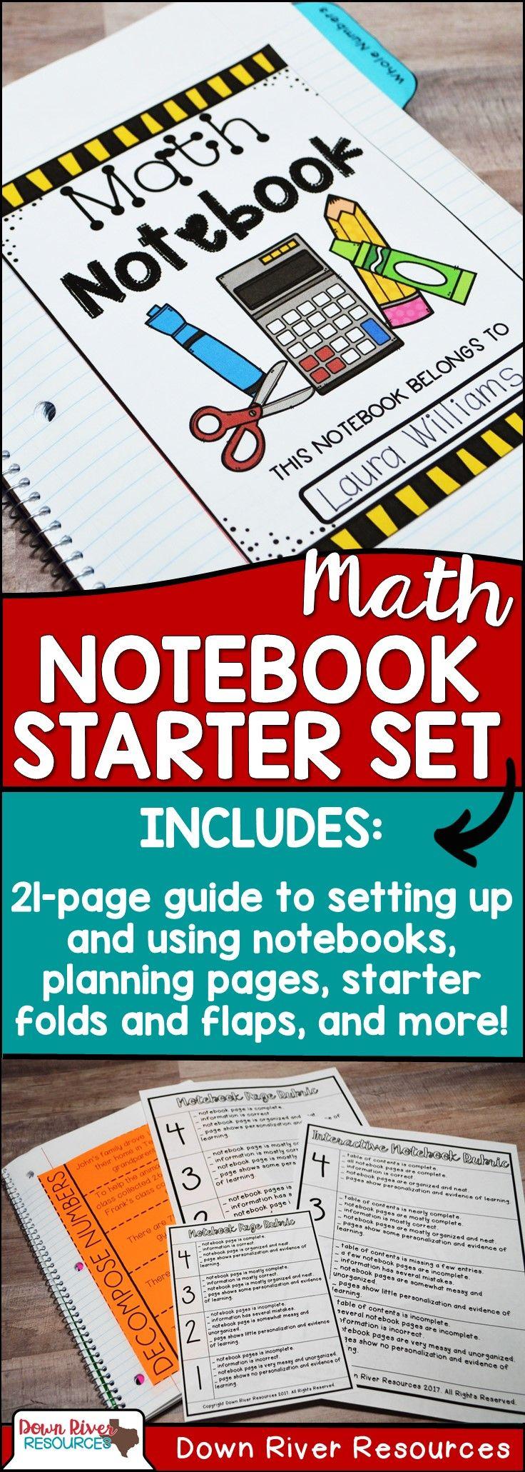 Math Interactive Notebook 1st Grade | Math Interactive Notebook 2nd Grade | Math Interactive Notebook 3rd Grade | Interactive Notebook Setup | Math Notebook Organization | Math Notebook Setup | Math Interactive Notebook Kindergarten | Math TEKS