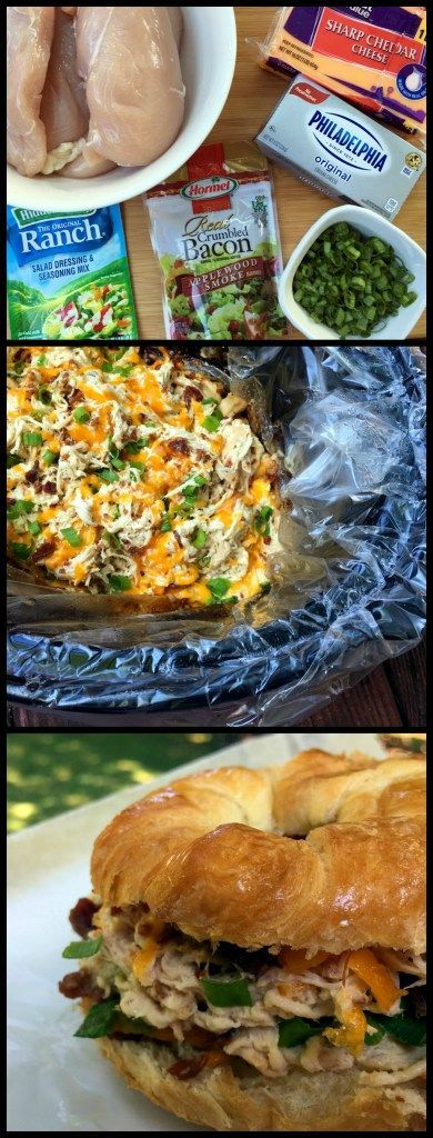 Slow Cooker Crack Chicken | Aunt Bee's Recipes