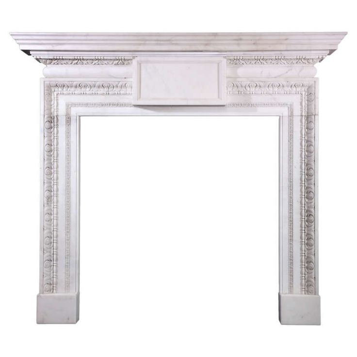 18th Century English Mantels In Veined Italian Statuary | From A Unique  Collection Of Antique And