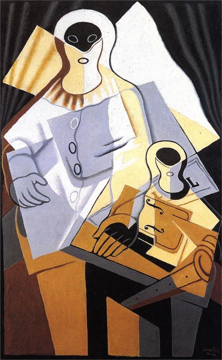 Pierrot, 1921 Juan Gris