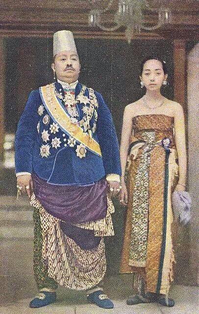 Pakubuwono n Ratu Mas 1920 Surakarta
