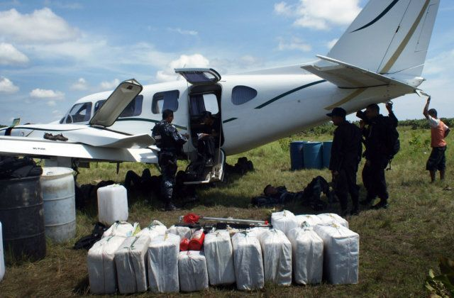 Flights shuttle coke, drugs around one continent daily