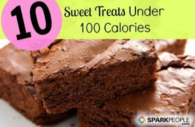 10 Treats Under 100 Calories | via @SparkPeople #sweet #dessert #diet