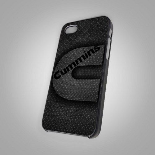Cummins Truk Diesel Power - For IPhone 4 or 4S Black Case Cover