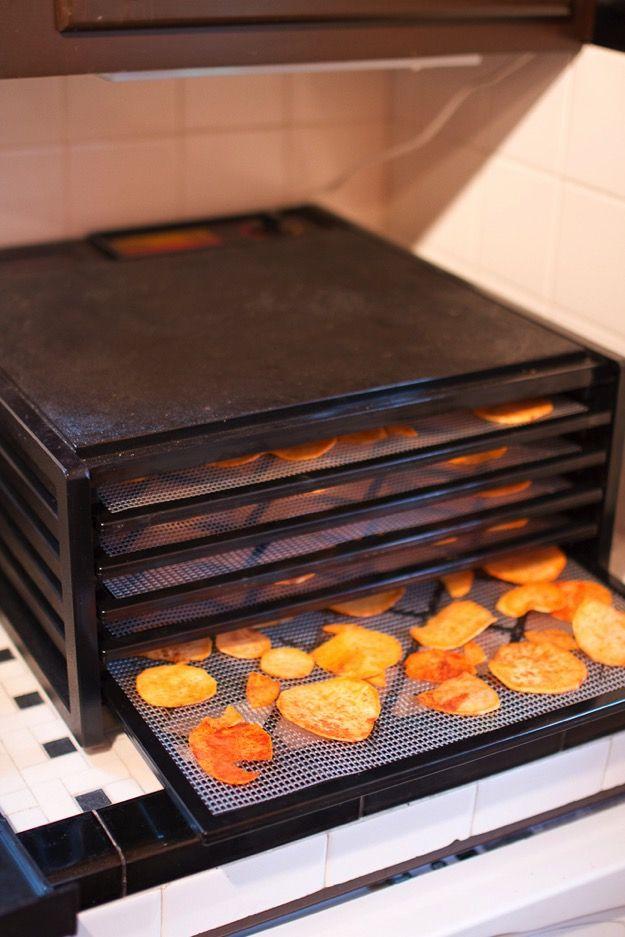 Dehydrated / Dehydrating / Dehydrator Sweet Potatoes