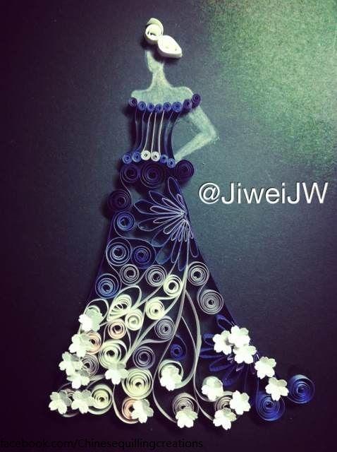 evening dress byJiweiJW