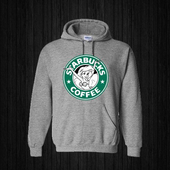 Starbuck Litlle Mermaid Hoodies Hoodie Sweatshirt by sijilbab13