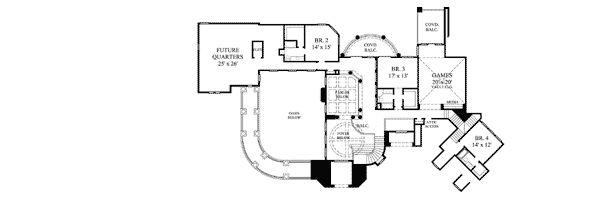 House plan view B