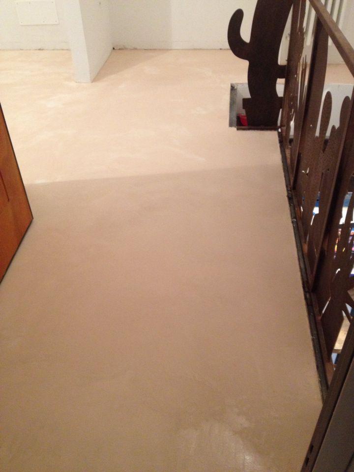 Pavimento in cemento madre