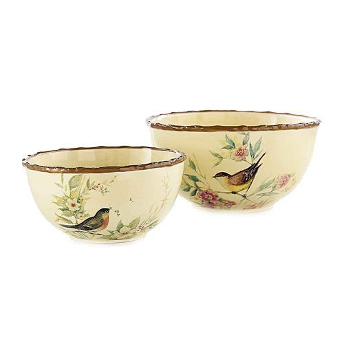 And Medium Serving Bowls Celebrating Home Susan Winget Collection