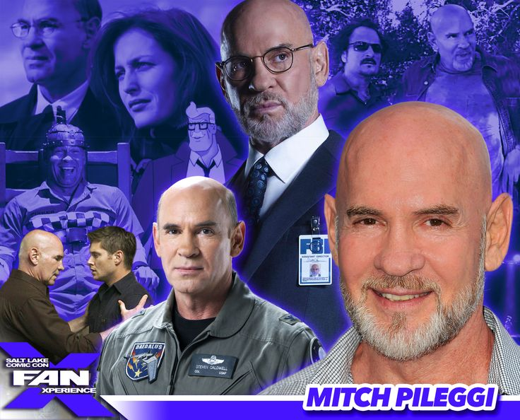 *PIN to WIN* Meet Mitch Pileggi at #FANX16! Walter Skinner on The X-Files, Supernatural, Sons of Anarchy, and more! #utah