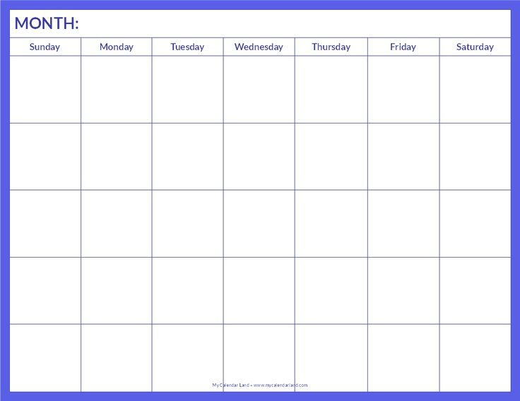 Best 25+ Monthly schedule template ideas on Pinterest Cleaning - social media calendar template