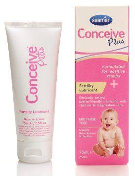Amazon.com: Conceive Plus Fertility Personal Lubricant Multi-use Tube 2.5fl.oz: Health & Personal Care