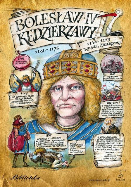 Bolesław Kędzierzawy - Poczet królów polskich -