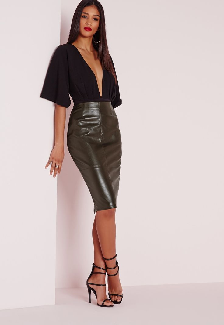 127 best Leather skirts images on Pinterest