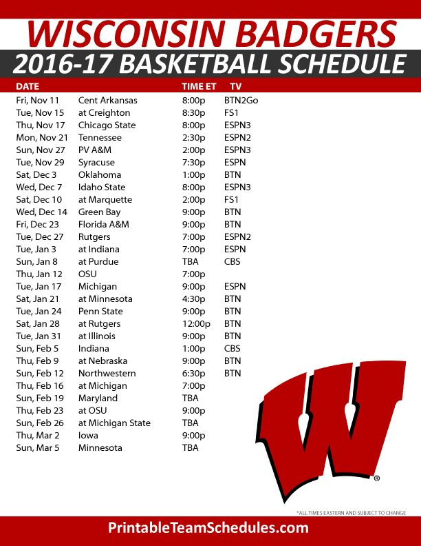 What Channel Is The Wi Badger Game On Today | Fandifavi.com