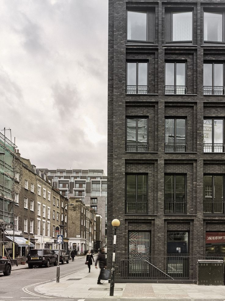 The Corner House, Fitzrovia, London by DSDHA Architects Photo © Christoffer Rudquist