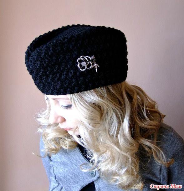 Шляпка, пилотка, шапка-бини с шарфиком и шапочка для сына)))