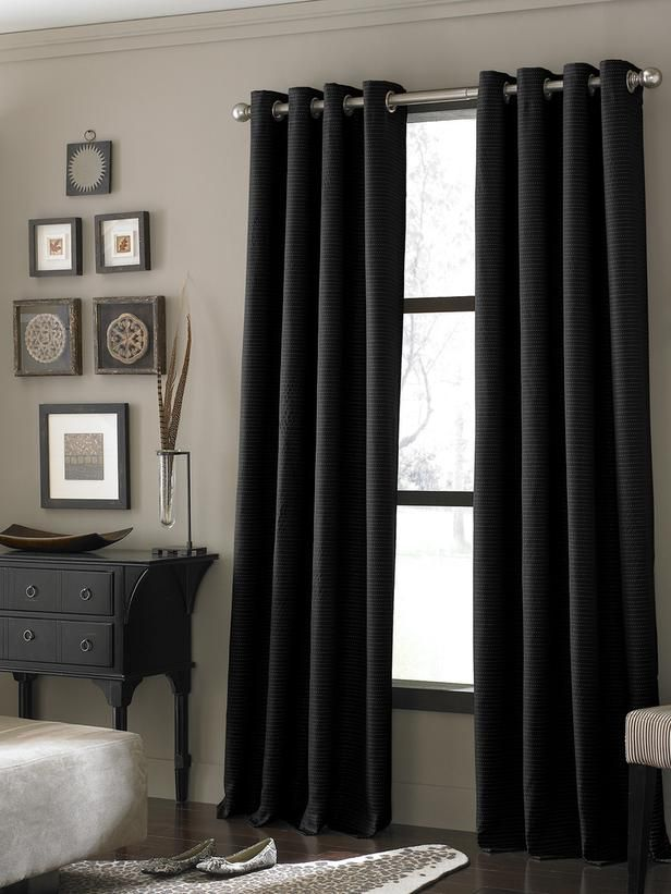 Best 25 Black curtains ideas only on Pinterest Black curtains