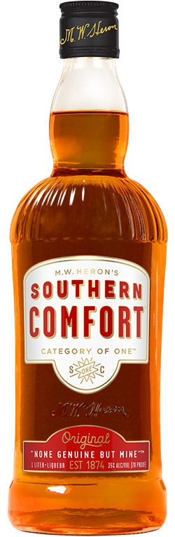 Southern Comfort is the flavor of whiskey made comfortable: smooth and delicious, unlike any other. Try Southern Comfort as a shot or in a mixed drink.
