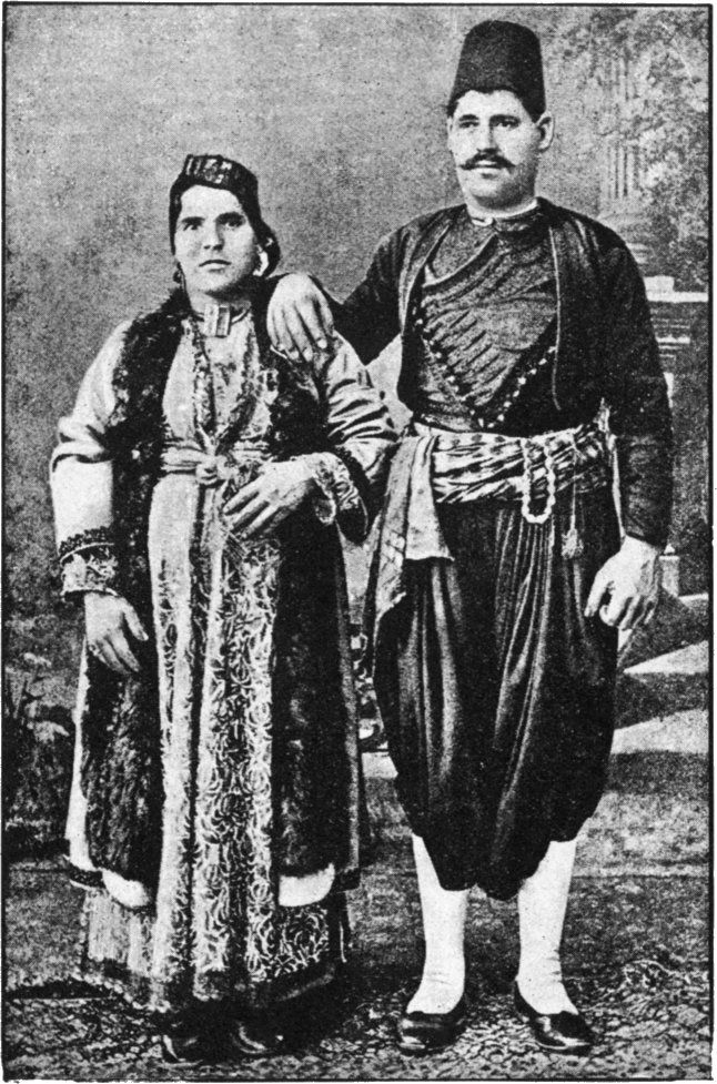 Turkish Jews.  Late-Ottoman era, end of 19th century.