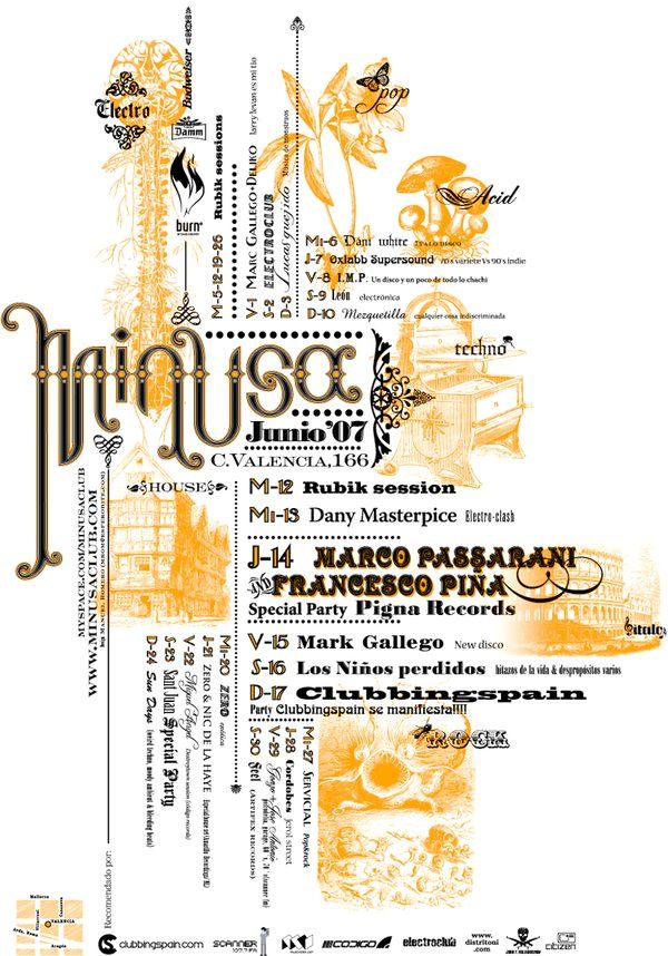 Minusa posters by Manuel Romero, via Behance