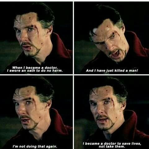 And this is why I love this version of Doctor Strange