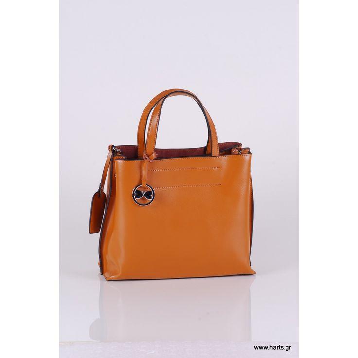 1058 καθημερινή τσάντα με ρυθμιζόμενο δεράτινο ιμάντα