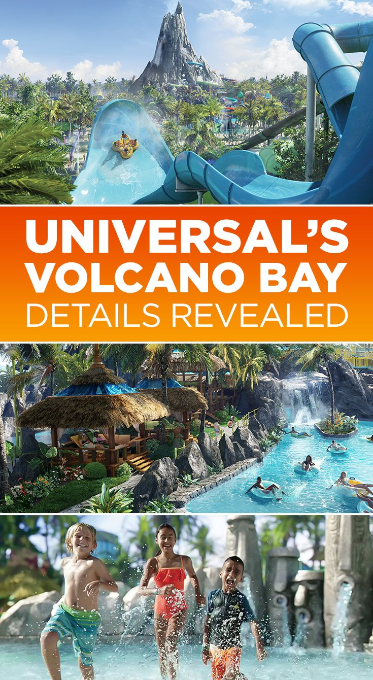 Universal Orlando Blog  Breaking News: First-ever details revealed for Universal Orlando's Volcano Bay. Click to read the complete story.