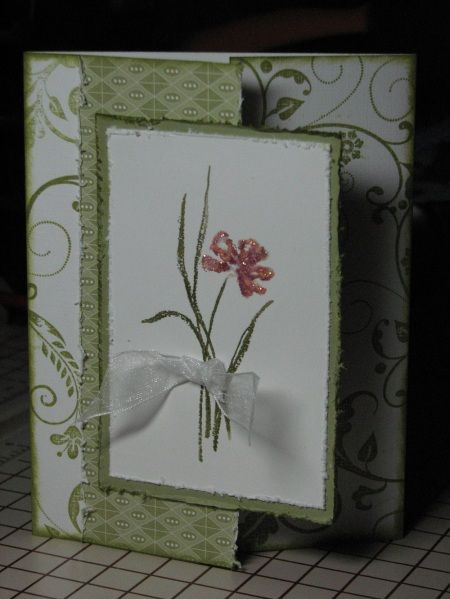 "By dmo at Splitcoaststampers. Uses Stampin' Up's ""Love and Sympathy"" set."