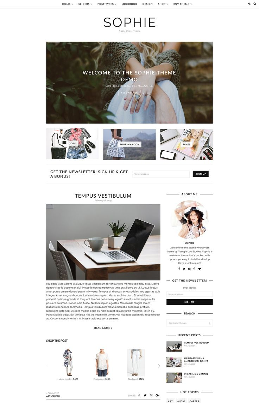 best wordpress blog inspriation images on pinterest design