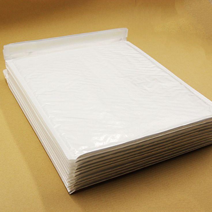 10 PCS 260*300mm Blanc Poly En Plastique Bulle Enveloppe Mailer Pour L'envoi Anti-choc Anti-statique Anti-pression