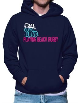 Real Guys Love Playing Beach Rugby