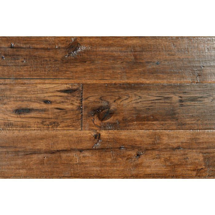Hickory 1 2 Thick X 7 1 2 Wide X Varying Length Engineered Hardwood Flooring Hickory Hardwood Floors Wood Floors Wide Plank Hardwood Floors