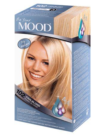 » N 102 PÄRLBLOND Permanent hårfärg med det unika komplexet multitechnology – ett 4 in 1-system som färgar, tvättar, skyddar och vårdar ditt hår, för naturlig färg och glans.  Gör håret upp till 3 nyanser ljusare och ger håret ett svagt pärlemorskimmer