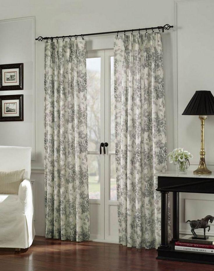 sliding glass door curtain treatment ideas - Google Search