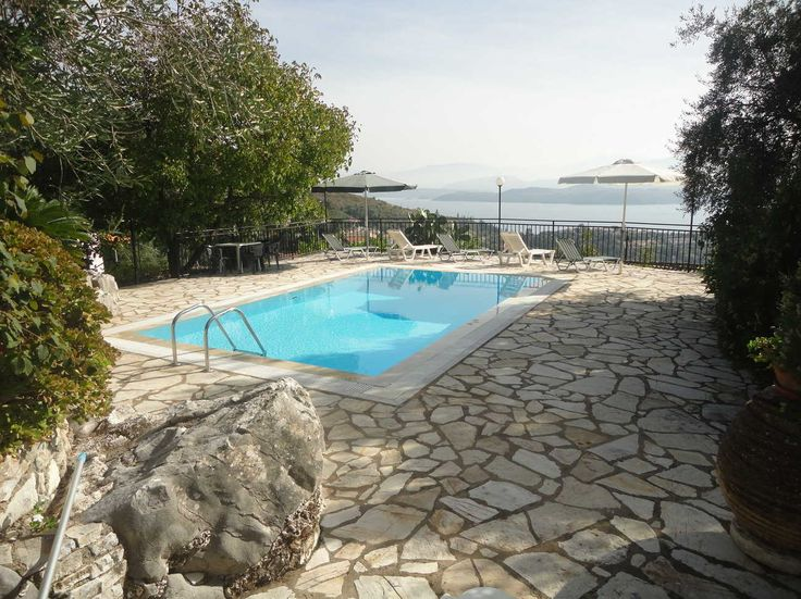 #VillaChrysoula with #panoramic #view in #Kalami find out more https://www.corfu-vacations.com/en/rentals/7-villa-chrysoula-with-panoramic-view-in-kalami-around-nissaki