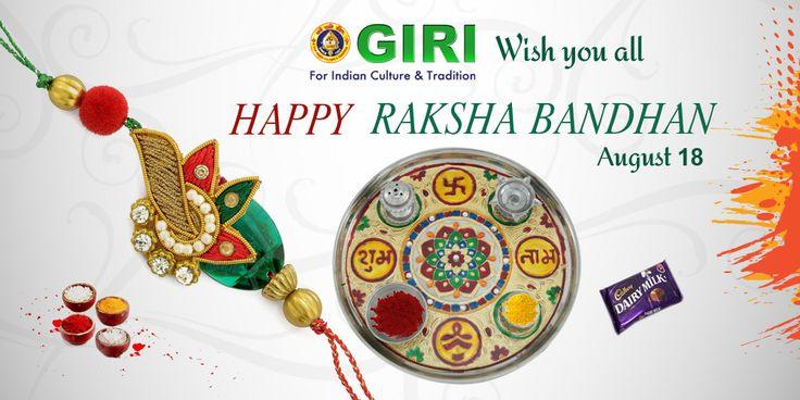 GIRI wishes #HappyRakshaBandhan to all