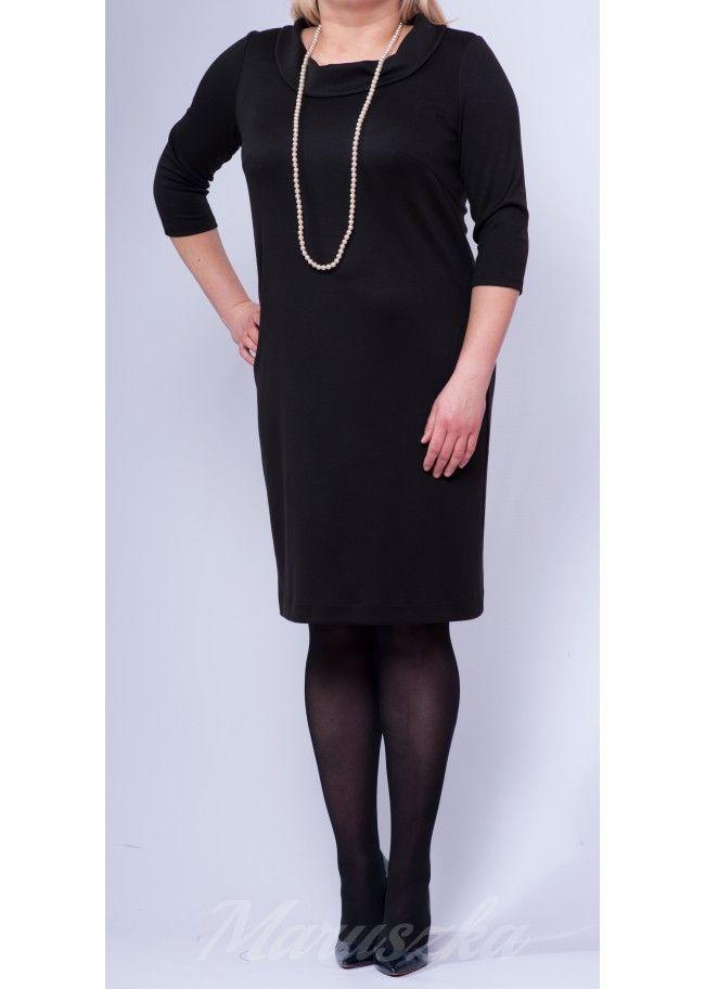 Dress AUDREY BLACK - Plus Size, 40$/EUR + shipping cost