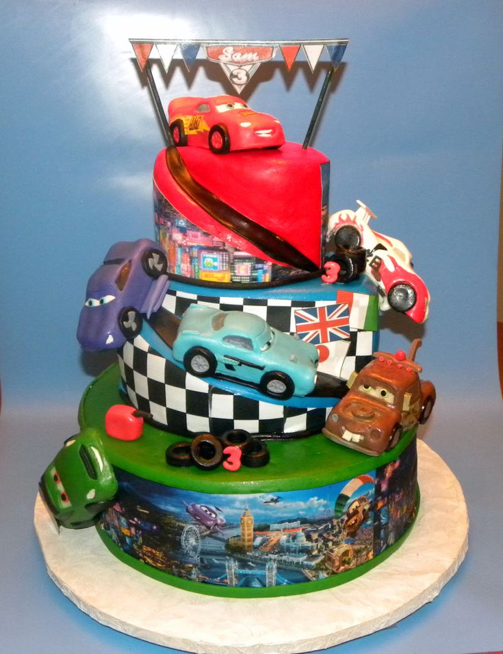 Best Cars Images On Pinterest Cars Birthday Parties Birthday - Birthday cake cars 2