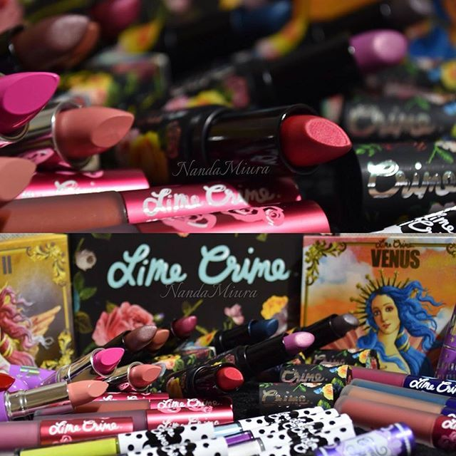 Oh my! Which #LimeCrime product are you eyeing to add to your collection? Shop now: limecrime.com