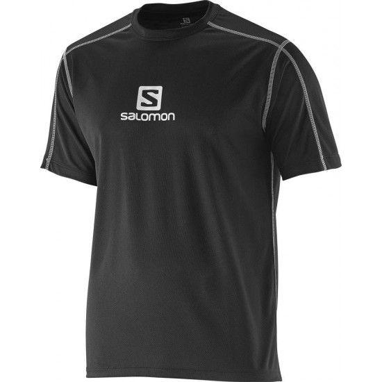SALOMON Stroll Logo SS Tee férfi póló