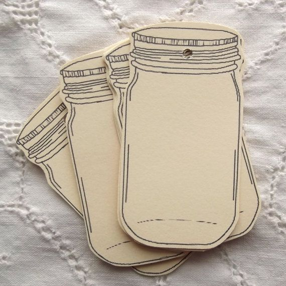 Downloadable gift tags~ Jars~awesome