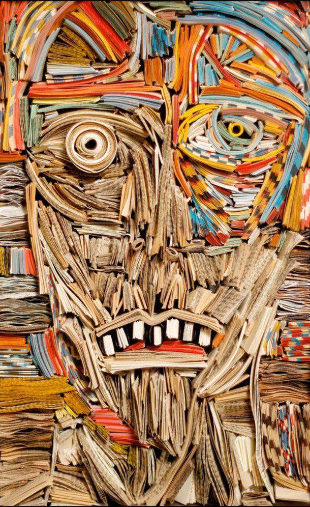Paper art - Nick Georgiou