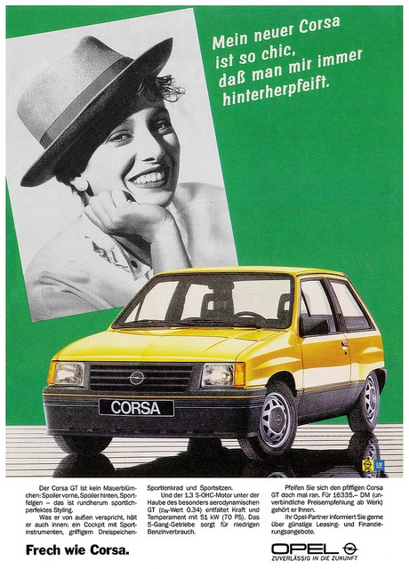 Opel Corsa A (1986) GT sportlich chic | Flickr - Photo Sharing!