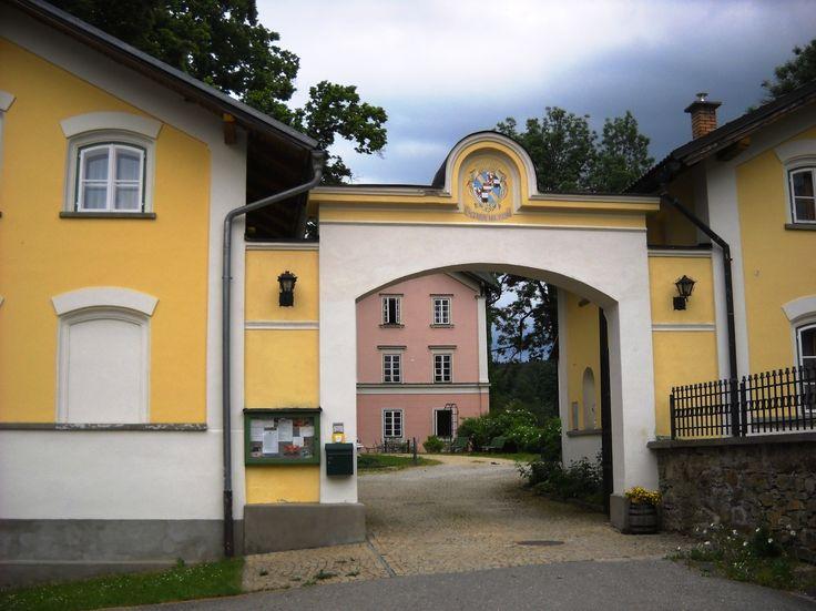 Zámecká brána Zdíkov - okres Prachatice - Šumava - Česko