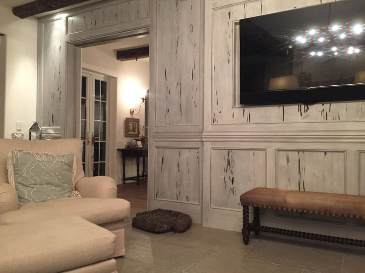 Pecky Cypress Paneling                                                                                                                                                                                 More